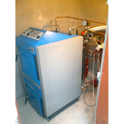 Centrale termice pe lemne Atmos DC40SX-Boiler 100L